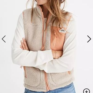 Penfield x madewell fleece vest